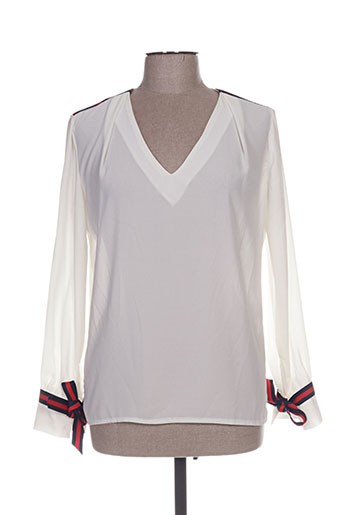 vintage love chemises femme de couleur blanc