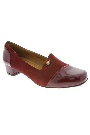 top shoes chaussures femme de couleur rouge