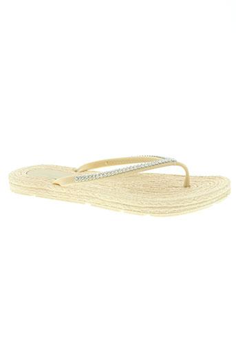 sixth sens chaussures femme de couleur beige