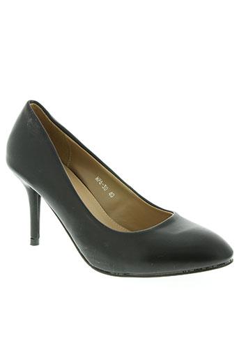 malien chaussures femme de couleur noir