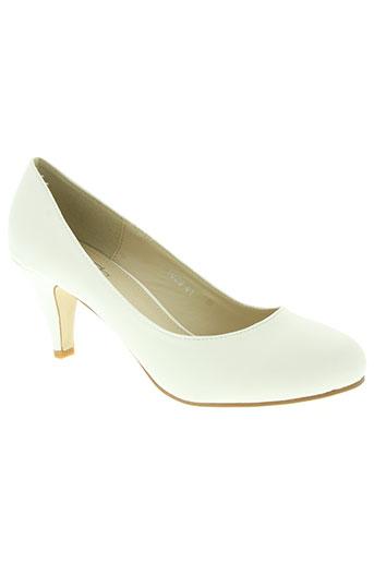 sshoes chaussures femme de couleur blanc