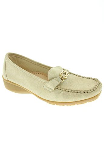 hirica chaussures femme de couleur beige