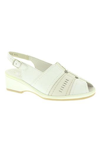ara chaussures femme de couleur blanc