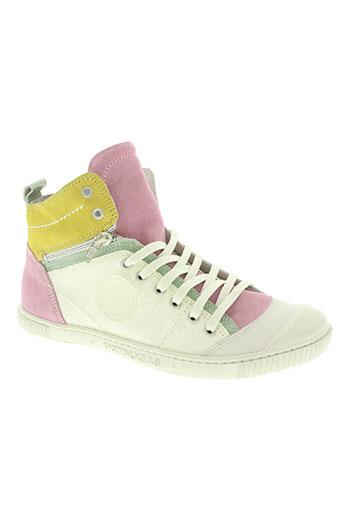 pataugas chaussures femme de couleur rose
