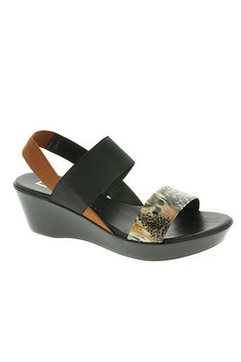 bz bis chaussures femme de couleur marron