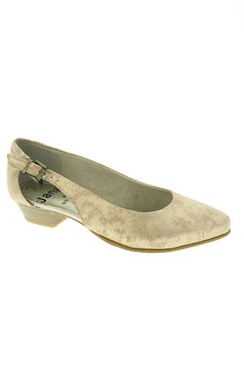jana chaussures femme de couleur beige