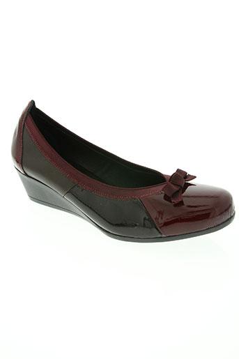 modabella chaussures femme de couleur rouge