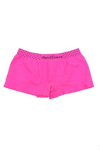 petillance lingerie fille de couleur rose