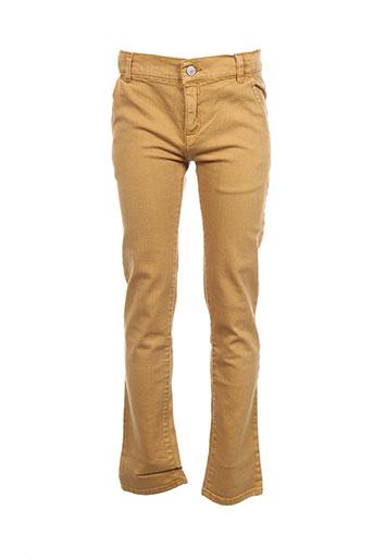 levis pantalons garçon de couleur jaune