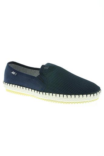 xti chaussures homme de couleur bleu