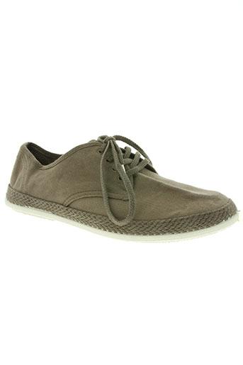 victoria chaussures homme de couleur marron