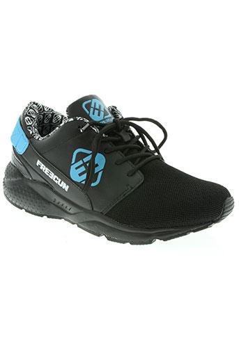 freegun chaussures homme de couleur bleu