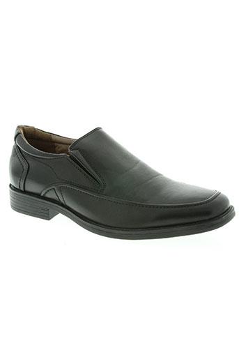 yimaida chaussures homme de couleur noir