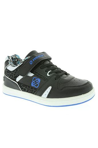 freegun chaussures garçon de couleur noir
