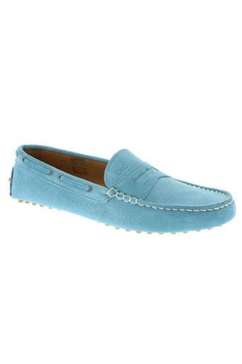 eden park chaussures garçon de couleur bleu