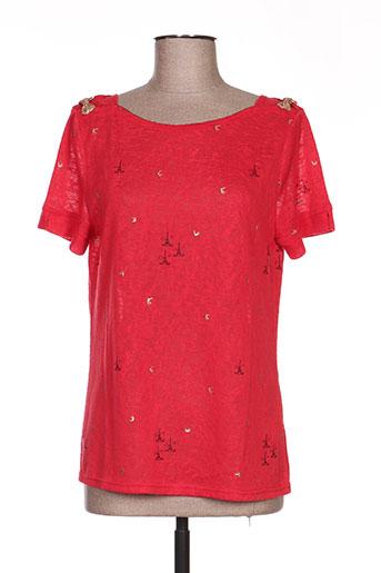 grace EFFI_CHAR_1 mila chemises femme de couleur rouge