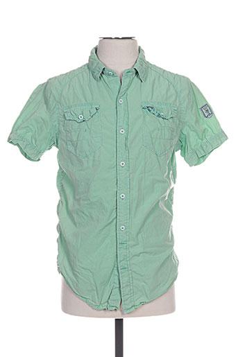 forex chemises homme de couleur vert