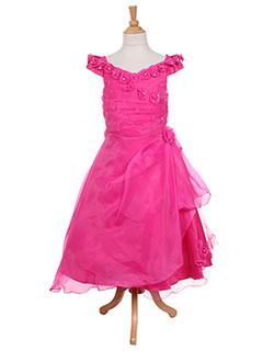 Robe longue rose LES VOILIERS pour fille