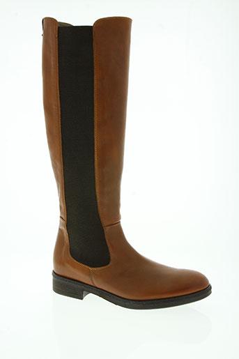 guess chaussures femme de couleur marron