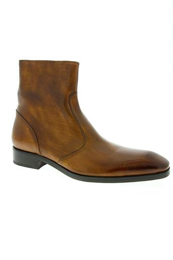 gianni emporio chaussures homme de couleur marron