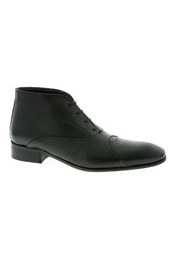 gianni emporio chaussures homme de couleur noir