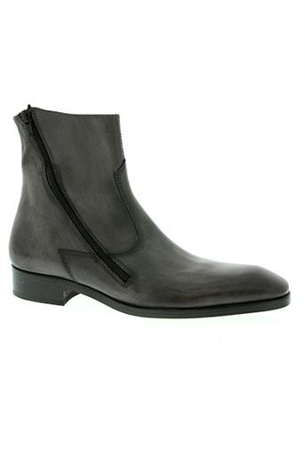 gianni emporio chaussures homme de couleur gris