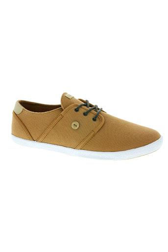 faguo chaussures homme de couleur marron
