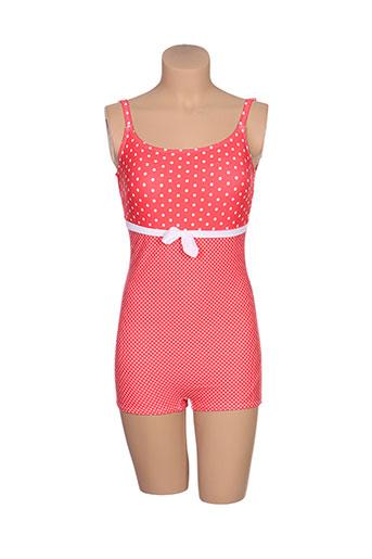 rose pomme maillots de bain femme de couleur rouge