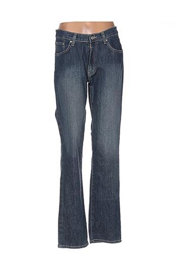 full blue pantalons femme de couleur bleu