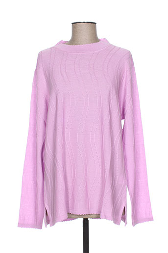bonneterie creusoise pulls femme de couleur rose