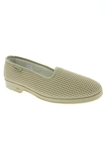 semelflex chaussures femme de couleur beige
