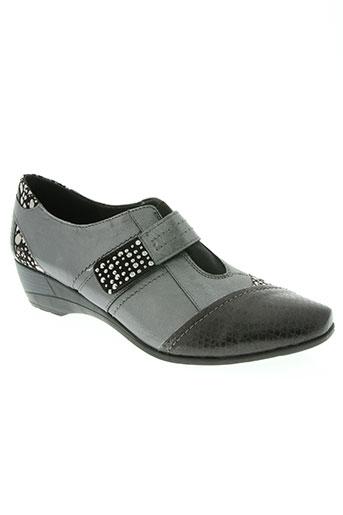 geo-reino chaussures femme de couleur gris