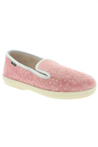 fargeot chaussures femme de couleur rose