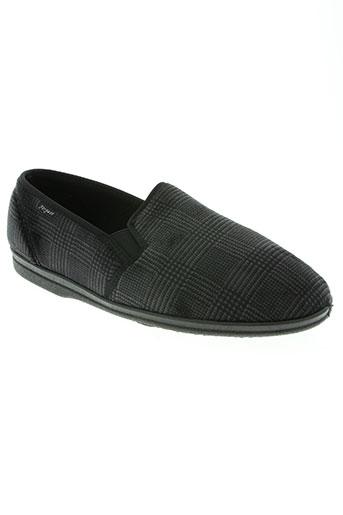 fargeot chaussures homme de couleur noir