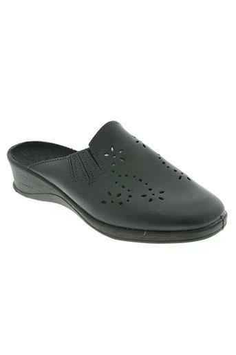 fargeot chaussures femme de couleur noir