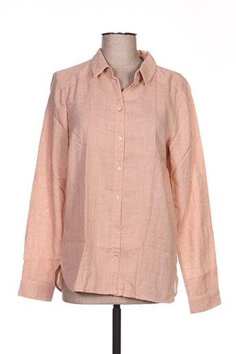 vila chemises femme de couleur rose