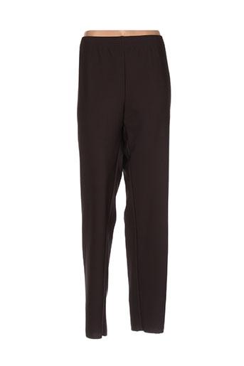 pauporté pantalons femme de couleur marron