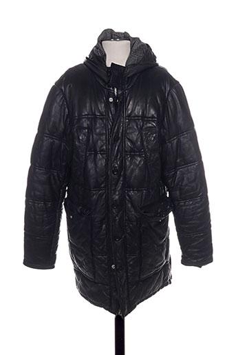 redskins manteaux homme de couleur noir