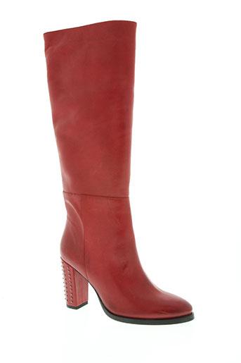 rosemetal chaussures femme de couleur rouge