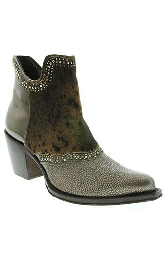 jo ghost chaussures femme de couleur marron