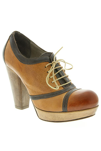moma chaussures femme de couleur marron