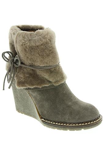 tosca blu shoes chaussures femme de couleur gris