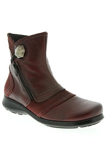 jose saenz chaussures femme de couleur rouge