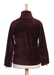 Veste casual violet MILK ON THE ROCKS pour fille seconde vue