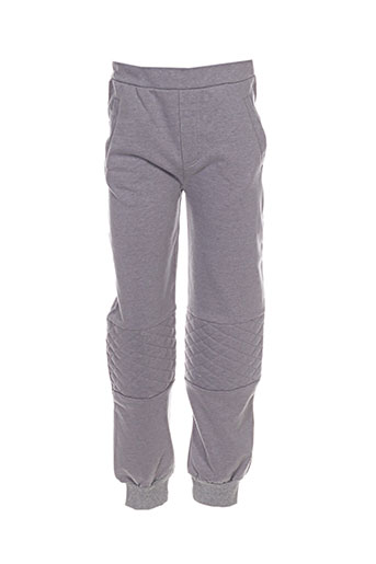 milk on the rocks pantalons enfant de couleur gris