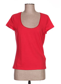 T-shirt manches courtes rouge ALDO MARTIN'S pour femme