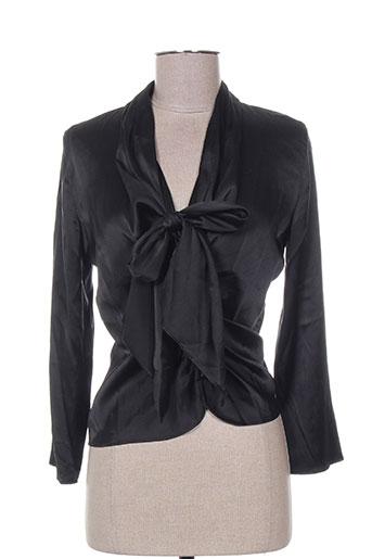 mine de rien chemises femme de couleur noir
