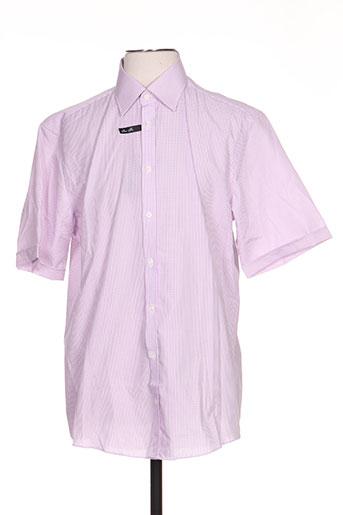 venti chemises homme de couleur violet