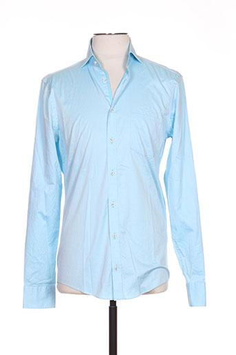 venti chemises homme de couleur bleu
