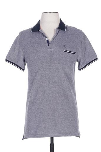 cambridge t-shirts homme de couleur bleu
